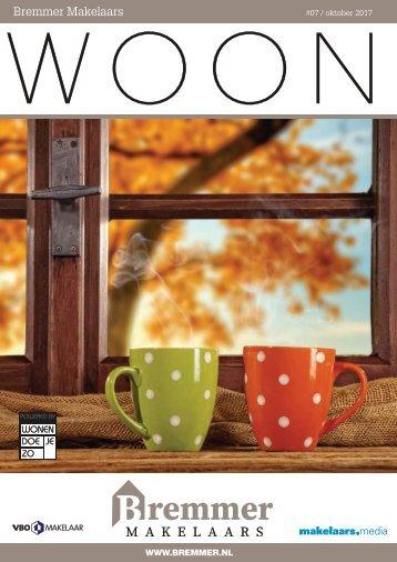 Bremmer Makelaars WOON magazine, oktober 2017