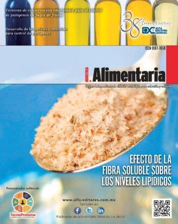 Industria Alimentaria julio-agosto 2017