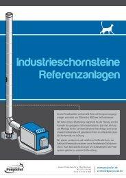 Referenzanlagen Industrieschornsteine