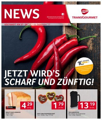 News KW 37 – 38 | 11. - 23. September 2017 - tg_news_kw_37_38_issu.pdf
