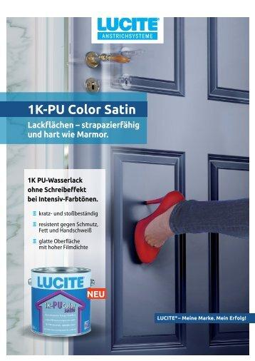 1K-PU Color Satin