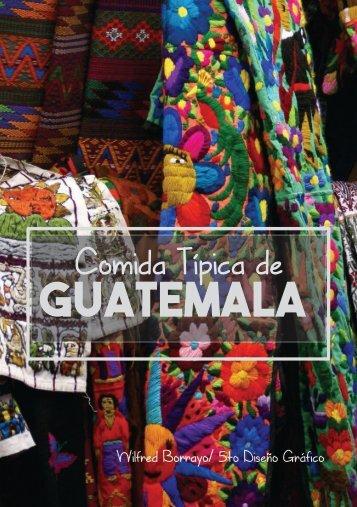 Comida tepica de Guatemala