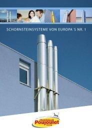 Broschüre Schornsteinsysteme von Europas Nr.1