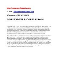 Affordable Dubai Escorts @~@+971~565~302~658 @~@ safe Escorts services Duba,