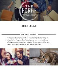 The Forge at Glassworks - The Art of Living