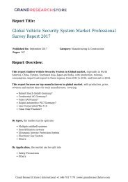 global-vehicle-security-system-market-professional-survey-report-2017-477-grandresearchstore