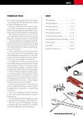 Powerplustools Katalog Werkstattwagen - Werkzeugkiste - Werkzeug - Lochwände - Seite 3