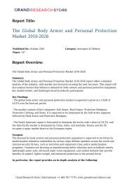 the-global-body-armor-and-personal-protection-market-2016-2026-grandresearchstore