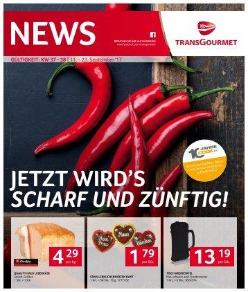 News KW 37 – 38 | 11. - 23. September 2017 - tg_news_kw_37_38_issu.pdf
