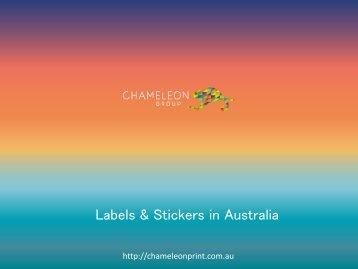 Labels & Stickers in Australia