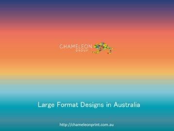Large Format Designs in Australia