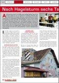 Nach Hagelsturm sechs Tage Kat-Einsatz im Flachgau Am ... - Seite 2