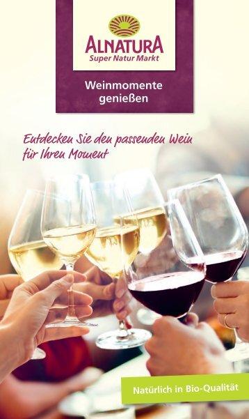 Alnatura Weinmomente genießen