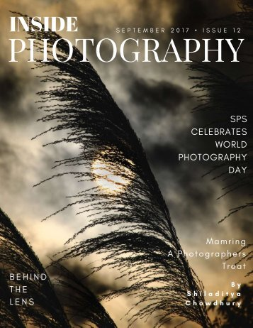 INSIDE PHOTOGRAPHY SEPTEMBER,2017