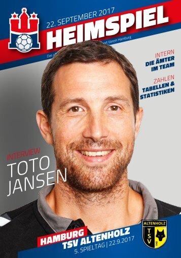 Handball Sport Verein Hamburg Hallenheft TSV Altenholz