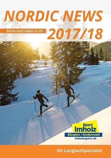Urner Nordic News  Broschüre