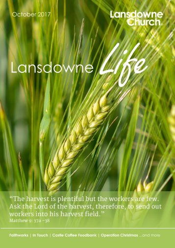 Lansdowne Life 8 October 2017