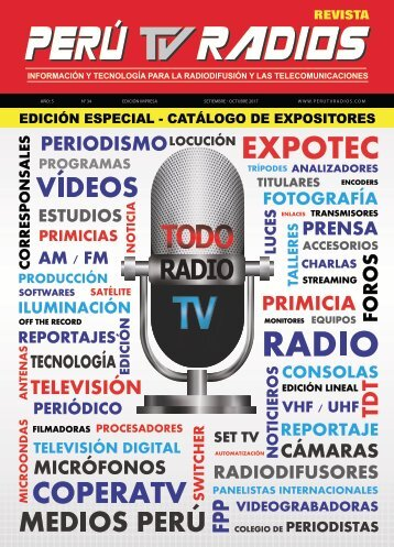 Revista PERÚ TV RADIOS SET - OCT 2017