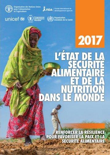 L'État de la sécurité alimentaire et de la nutrition dans le monde 2017