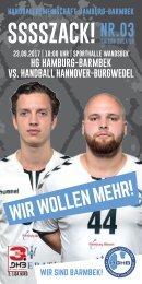 SSSSZACK! HGHB vs. Handball Hannover-Burgwedel