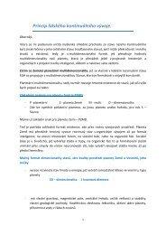 Princip lidského kontinuálního vývoje 21.9.2017