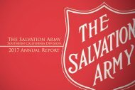 The Salvation Army Southern California Annual Report 2017