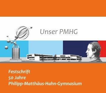 Festschrift PMHG