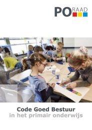 2017-08-01 Code goed bestuur in het primair onderwijs