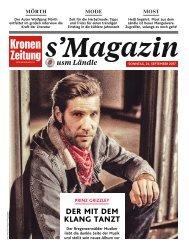s'Magazin usm Ländle, 24. September 2017