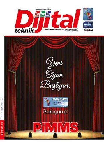 Dijital Teknik Dergisi – Eylül 2017 Sayısı