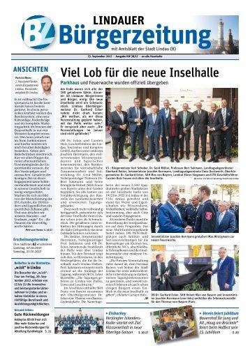 23.09.2017 Lindauer Bürgerzeitung