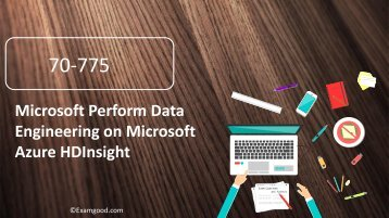 Examgood Microsoft MCSA 70-775 exam questions