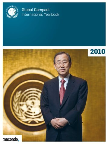 Global Compact International Yearbook Ausgabe 2010