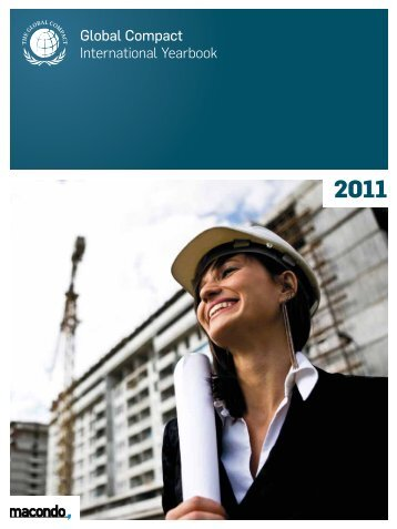 Global Compact International Yearbook Ausgabe 2011
