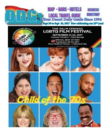 Sept 20 to Sept  26, 2017 Gay Palm Springs!  Now celebrating our 23rd year!