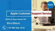 Apple Support Phone Number UK +44-8000465216