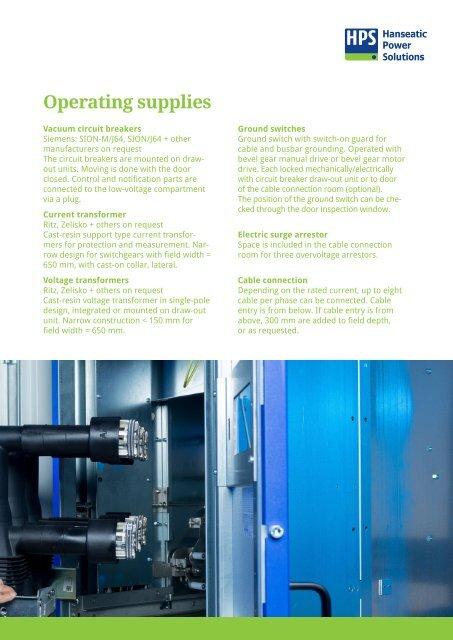 HPS Mittelspannung Broschüre