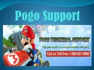 Pogo Support Help Number 1-888-827-9060