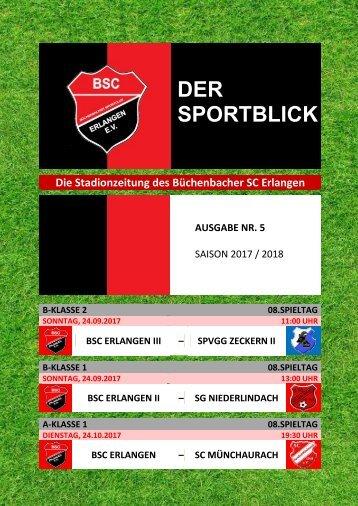 Der Sportblick (Ausgabe Nr. 05 | 17/18)