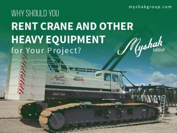 The Importance of Equipment Rental in FT McMurray Alberta