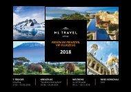 REISEN IM PRIVATEN VIP-FLUGZEUG - HL Travel Katalog 2018