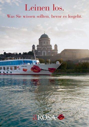 A-Rosa Tips und Infos vor der Flussreise