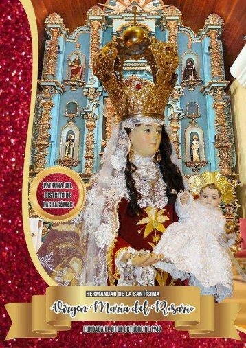 Programa Virgen del Rosario 2017-Pachacamac