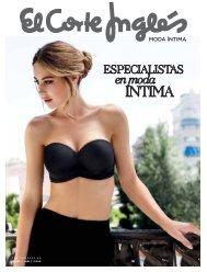 Catálogo El Corte Inglés, MODA ÍNTIMA OTOÑO 2017