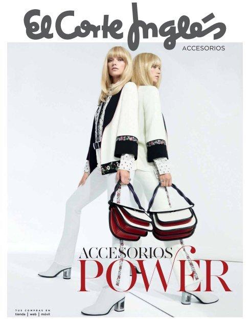 Catálogo El Corte Inglés Moda Accesorios Otoño 2017
