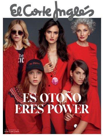 Catálogo El Corte Inglés Moda, ES OTOÑO ERES POWER  2017.