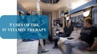 5 Benefits Of The IV Therapy
