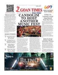 GoanTimes September 23rd 2017 Edition