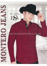 #607 Catálogo Montero Jeans and Boots Botas y Ropa