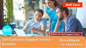 Dell Support Phone Number Australia +611800954262